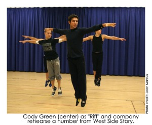 West Side Story Rehearsal (with Cody Green)